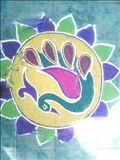 Indien, Kreide, Yoga-Campus Vivenkananda