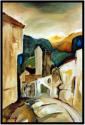 Griechenland 1, ギリシャ1, Öl auf Leinwand, Ernst-Ulrich Jacobi