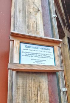 Bad Dürrenberg Kaltinhalierhalle,