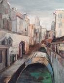 Venedig, ヴェネツィア, 2010, Öl auf Leinwand, Ernst-Ulrich Jacobi