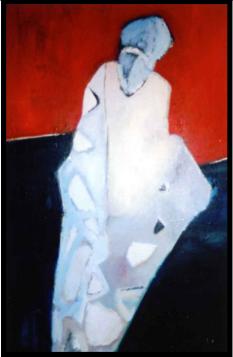 Kokon, 繭, Öl auf Leinwand, Ernst-Ulrich Jacobi