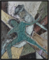 Kreuzweg, クロスロード, Öl auf Leinwand, Ernst-Ulrich Jacobi