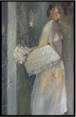 Präsentation, プレゼンテーション, Öl auf Leinwand, Ernst-Ulrich Jacobi