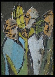 Weg 5, Collage Ernst-Ulrich Jacobi