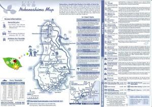 Nokonoshima Inselpark Karte 2