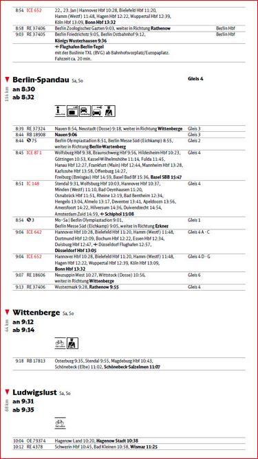 フライヤ・ドイツ鉄道の時刻表 DB Ihr Reiseplan (3/6)