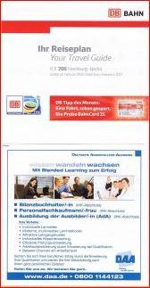フライヤ・ドイツ鉄道の時刻表 DB Ihr Reiseplan (4/6)