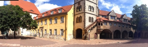 モリツ城の中庭 Moritzburg