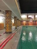 ハレザーレの公衆浴場の男性用プール