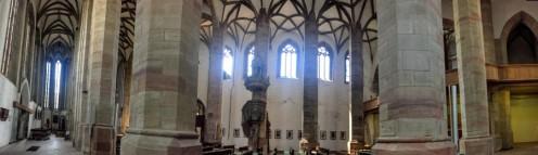 モリツ教会の二つ側廊の一つ