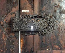 モリツ教会、錠前