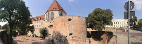 モリツ城と城の掘り Moritzburg