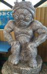 Glückbringenden Kappa im Matsubara Schrein.