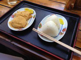Onigiri & Warabimochi