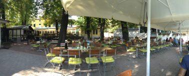 レストランとビャガーデンKrug Zum Grünen Kranze