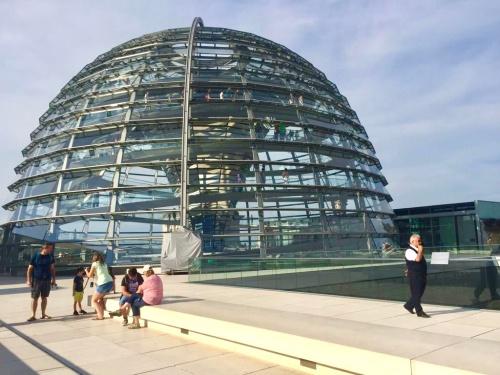 Reichstag Berlin-Mitte Kippei Aussenansicht