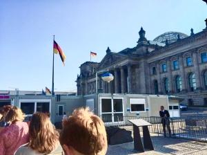 Reichstag Berlin-Mitte Aussenansicht