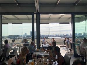Reichstag Berlin-Mitte Käfer Café Innenansicht