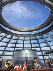 Reichstag Berlin-Mitte Kuppel Innenansicht